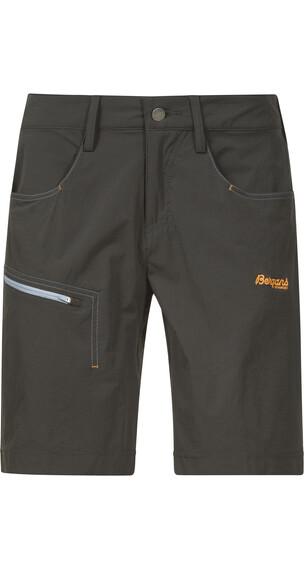 Bergans W's Moa Shorts Solid Charcoal/Dusty LT Blue